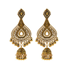 Load image into Gallery viewer, Jhumka Indian Earrings - Worlds Abroad