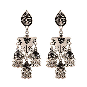 Jhumka Indian Earrings - Worlds Abroad