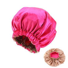 Load image into Gallery viewer, Extra Large Satin Lined Sleeping Cap - Worlds Abroad