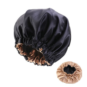 Extra Large Satin Lined Sleeping Cap - Worlds Abroad