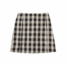 Load image into Gallery viewer, Plaid Mini Skirt - Worlds Abroad
