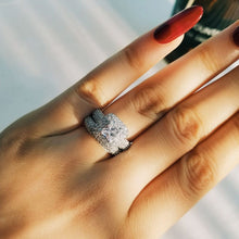Load image into Gallery viewer, Sterling Silver & Zircon Ring - Worlds Abroad