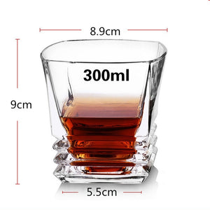 Whiskey Brandy Vodka Crystal Glassware - Worlds Abroad