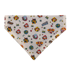 "Pet Paw ""Paw Patrol"" Over-The-Collar Dog Bandana"
