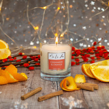 Load image into Gallery viewer, Cinnamon & Orange Scented Candle