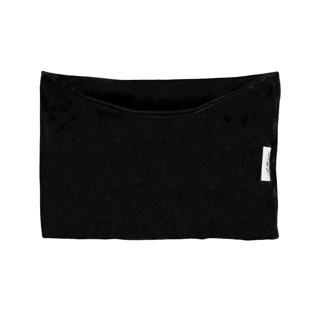 Soft & Stretchy Neck/Hair Roll, Black