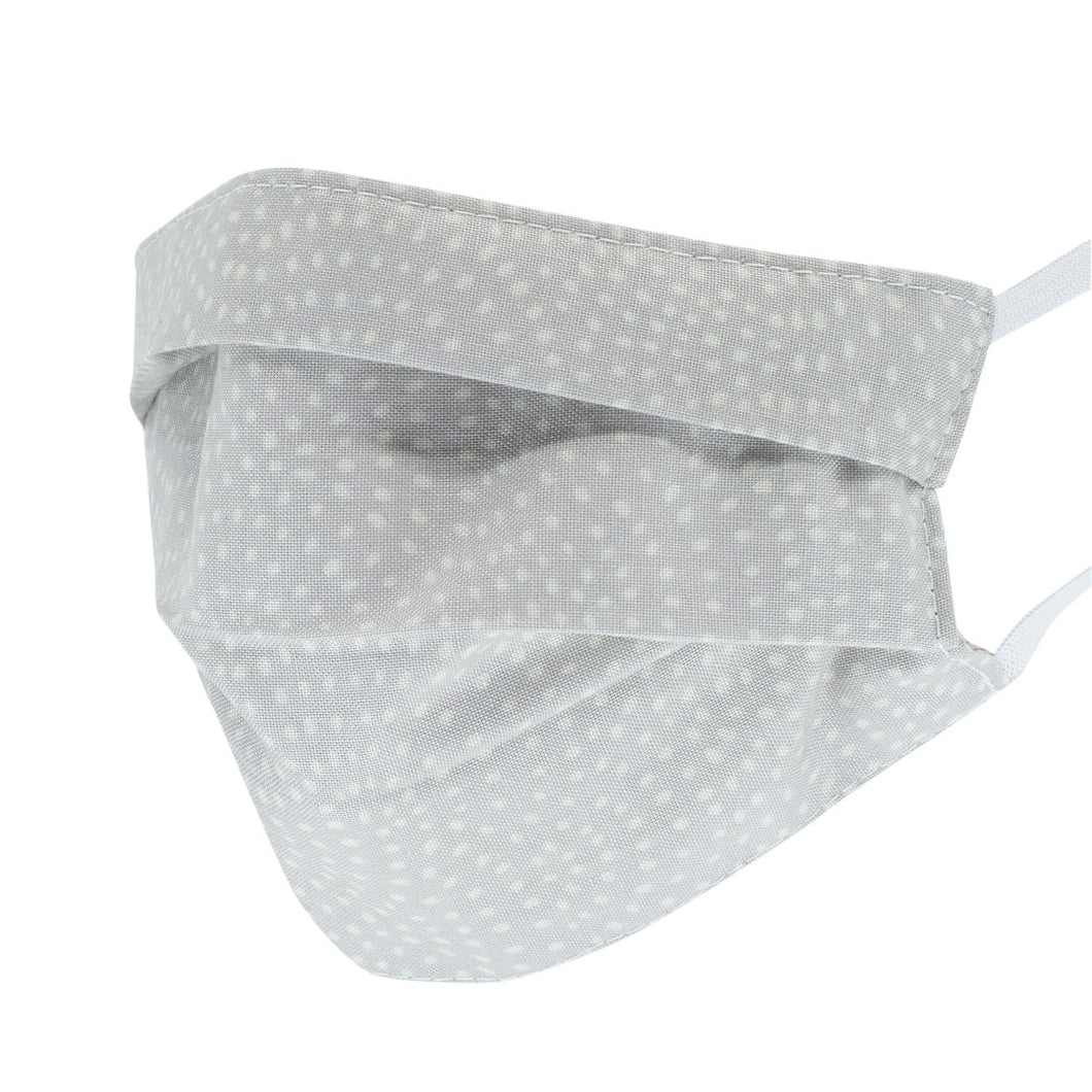 Peppermint Polka Pleated Mask