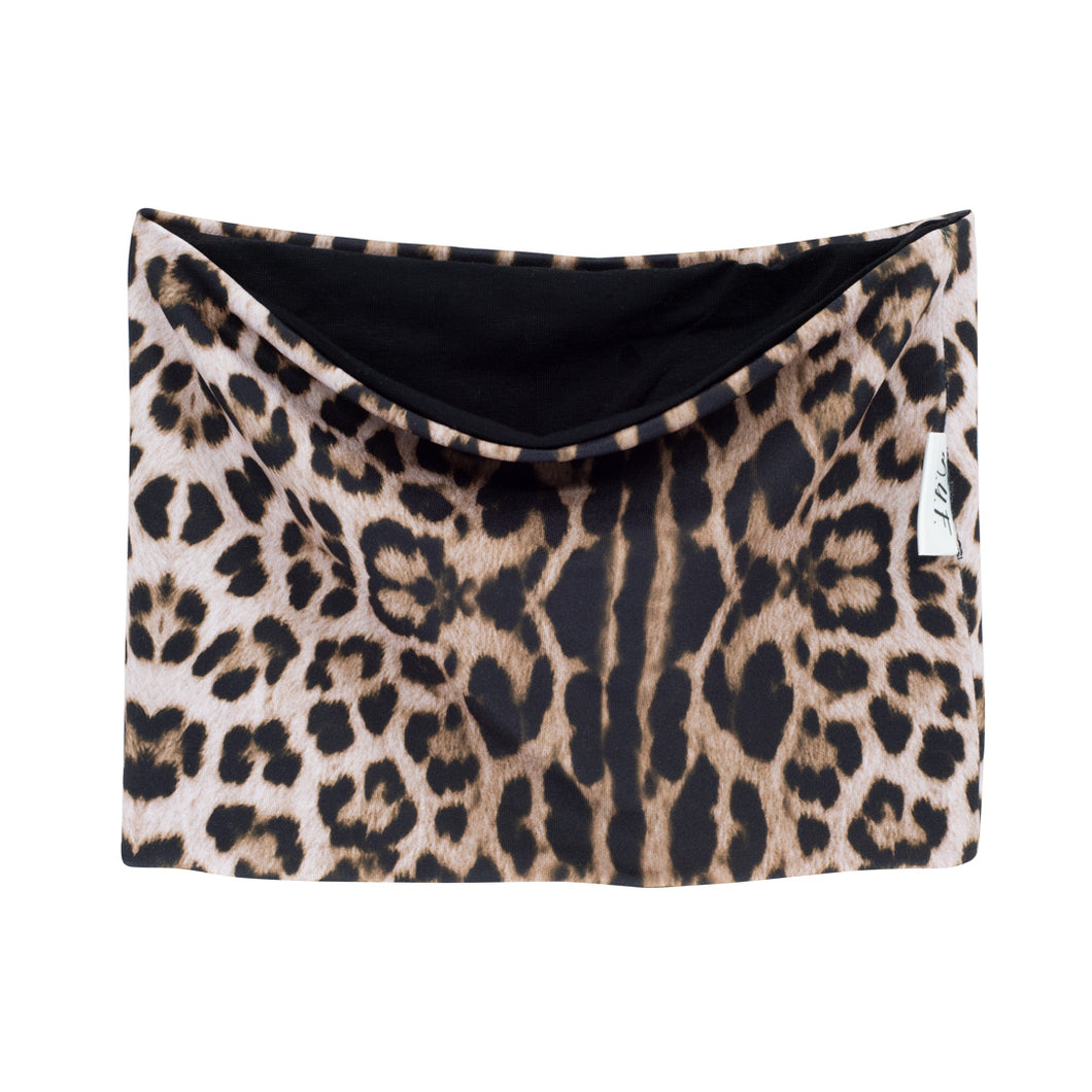 Soft & Stretchy Neck/Hair Roll, Animal Print