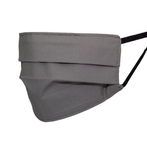Basic Grey Pleated Mask