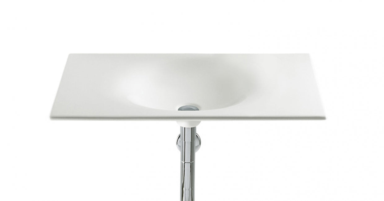 Pedestal and wall-hung basins