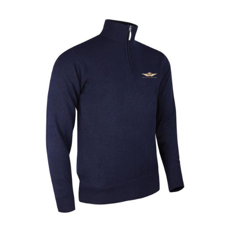 Glenmuir Ava Sweater - Navy (Club Crested)