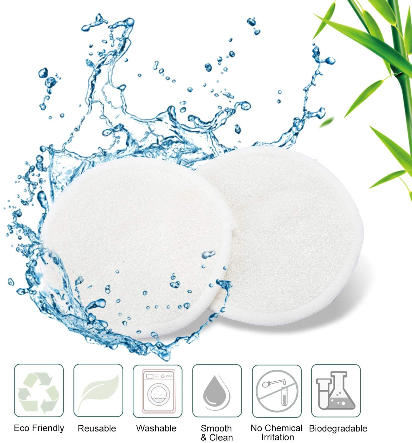 Reusable Makeup Remover Pads (12 pcs)