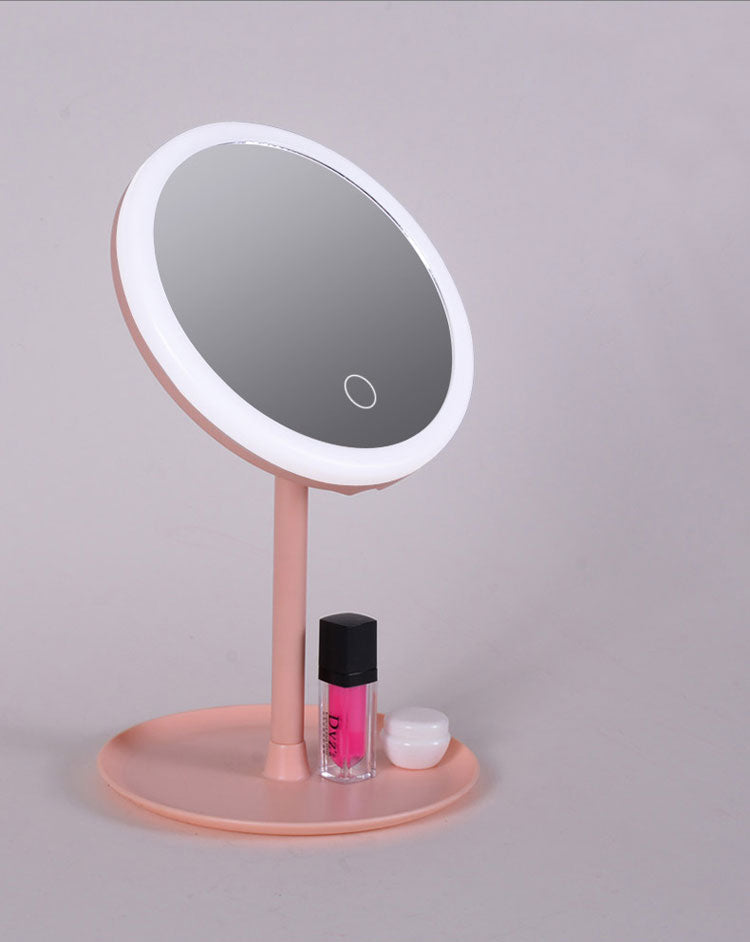 LED Makeup Mirror with Touch-Control