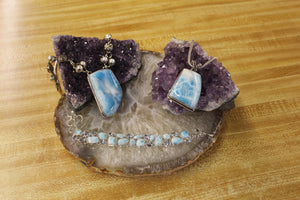 Larimar Jewelry-the Beautiful Stone of the Carribean