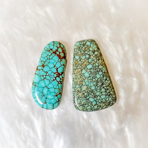 Number 8 Turquoise Stones