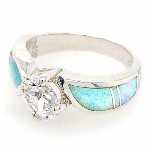 David Rosales Amazing Light CZ Ring