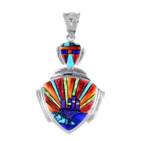 David Rosales Indian Summer Sunset Pendant