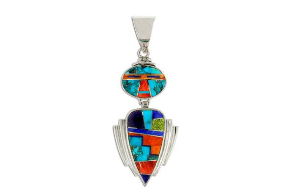 David Rosales Indian Summer Yei Pendant