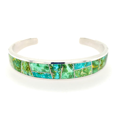 David Rosales Sonoran Gold Men's Turquoise Bracelet