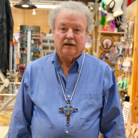 Gary Wearing David Rosales Cross Pendant