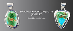Sonoran Gold Turquoise Jewelry
