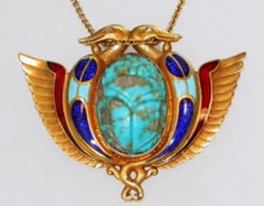 Egyptian Turquoise Necklace - Stagecoach