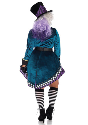 Delightful Hatter Costume Back - Leg Avenue
