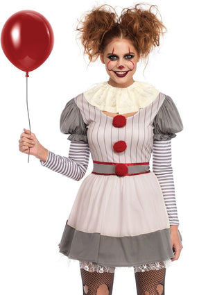 Creepy (IT) Clown Costume-Nebraska