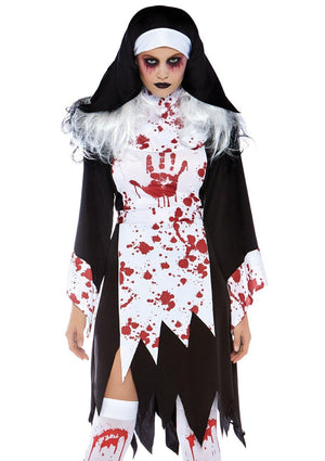 Killer Nun Costume - Leg Avenue