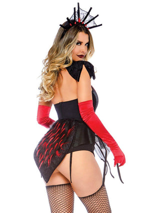 Spider Queen Costume Back - Leg Avenue