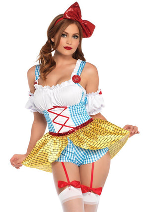 Yellow Brick Babe Costume - Leg Avenue