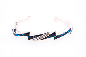 David Rosales Black Beauty Lightning Bracelet - Front