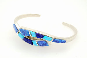 David Rosales Blue Sky Twist Bracelet - Side