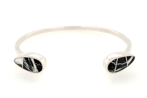 David Rosales Trendy White Buffalo Bracelet - Front