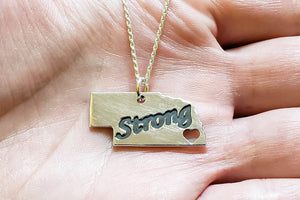 Nebraska Strong Pendant - Stagecoach