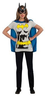 Costume - Adult Batgirl Sexy Shirt Set