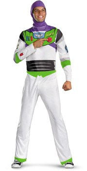 "Costume - Adult Buzz Lightyear Costume From ""Toy Story"""