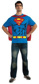 Costume - Adult Superman Shirt Set