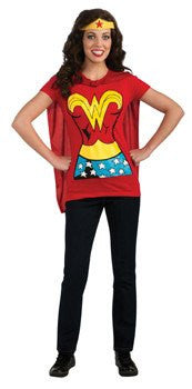 Costume - Adult Wonder Woman Shirt Set