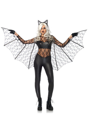 Black Magic Bat Costume