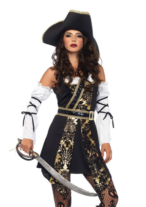 Costume - Black Sea Buccaneer Costume