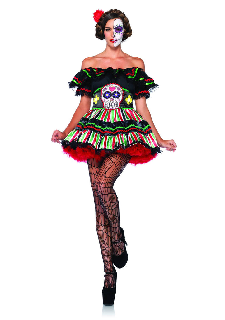 Costume - Day Of The Dead Doll Costume