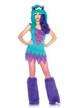 Costume - Fuzzy Frankie By Leg Avenue