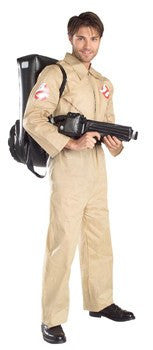 Costume - Ghostbusters Standard Costume For Adults
