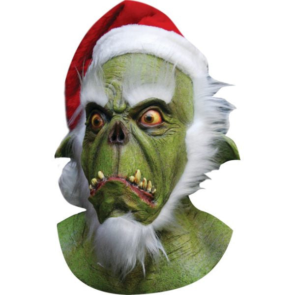 Costume - Green Santa Mask