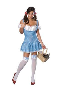 "Costume - Sexy Dorothy From ""The Wizard Of Oz"" Costume"