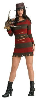 Costume - Sexy Female Freddy Krueger Costume