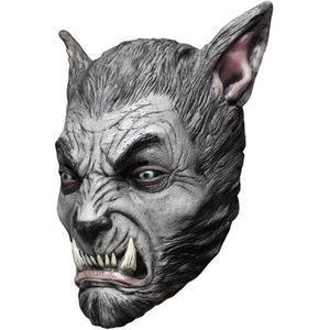Costume - Silver Beast Wolf Mask