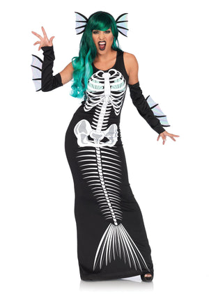 Skeleton Siren Costume