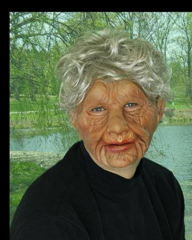 Costume - Super Soft Old Woman Mask